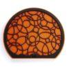 KEAS Grille Orange Pattern